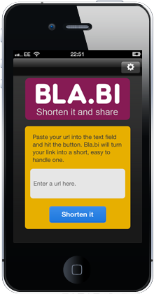 Bla.bi App On iPhone