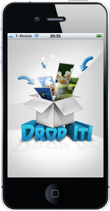 Drop It App On iPhone